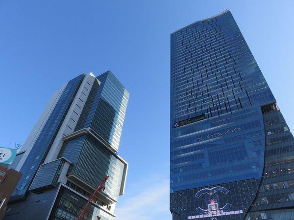 渋谷ヒカリエと渋谷スクランブルスクエア
