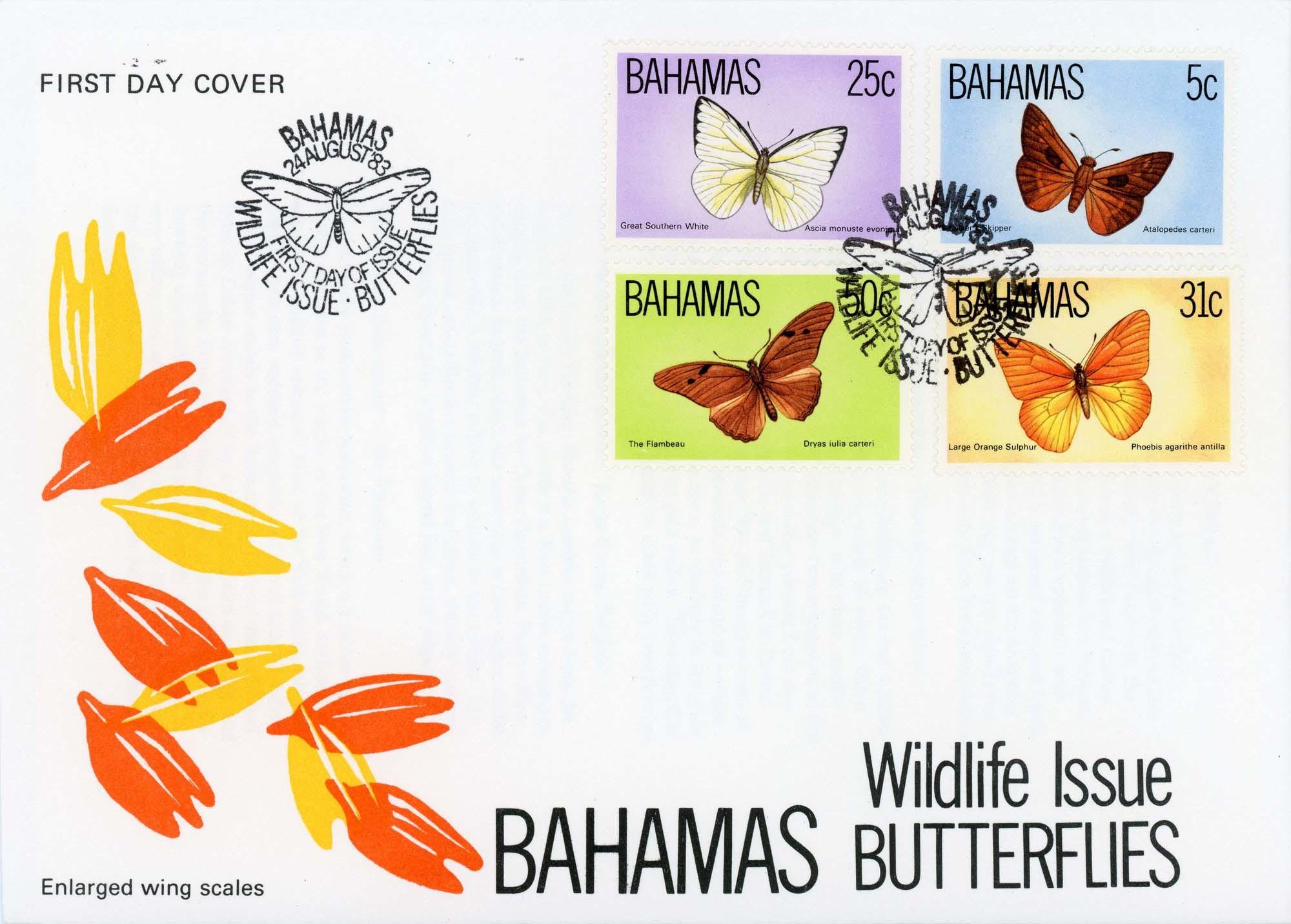 Bahamas:24-Aug-83FDC-1