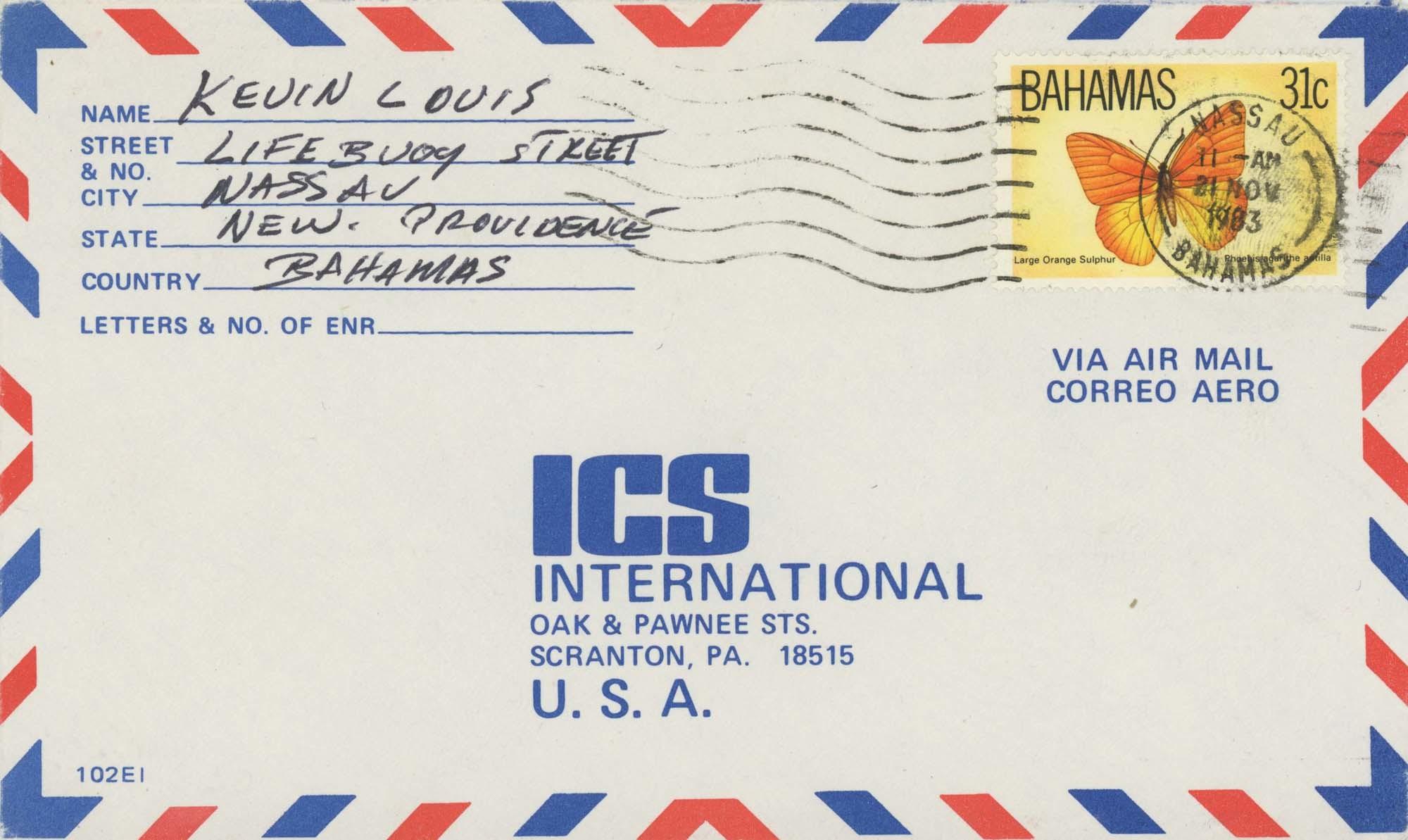 Nassau:21-Nov-1983