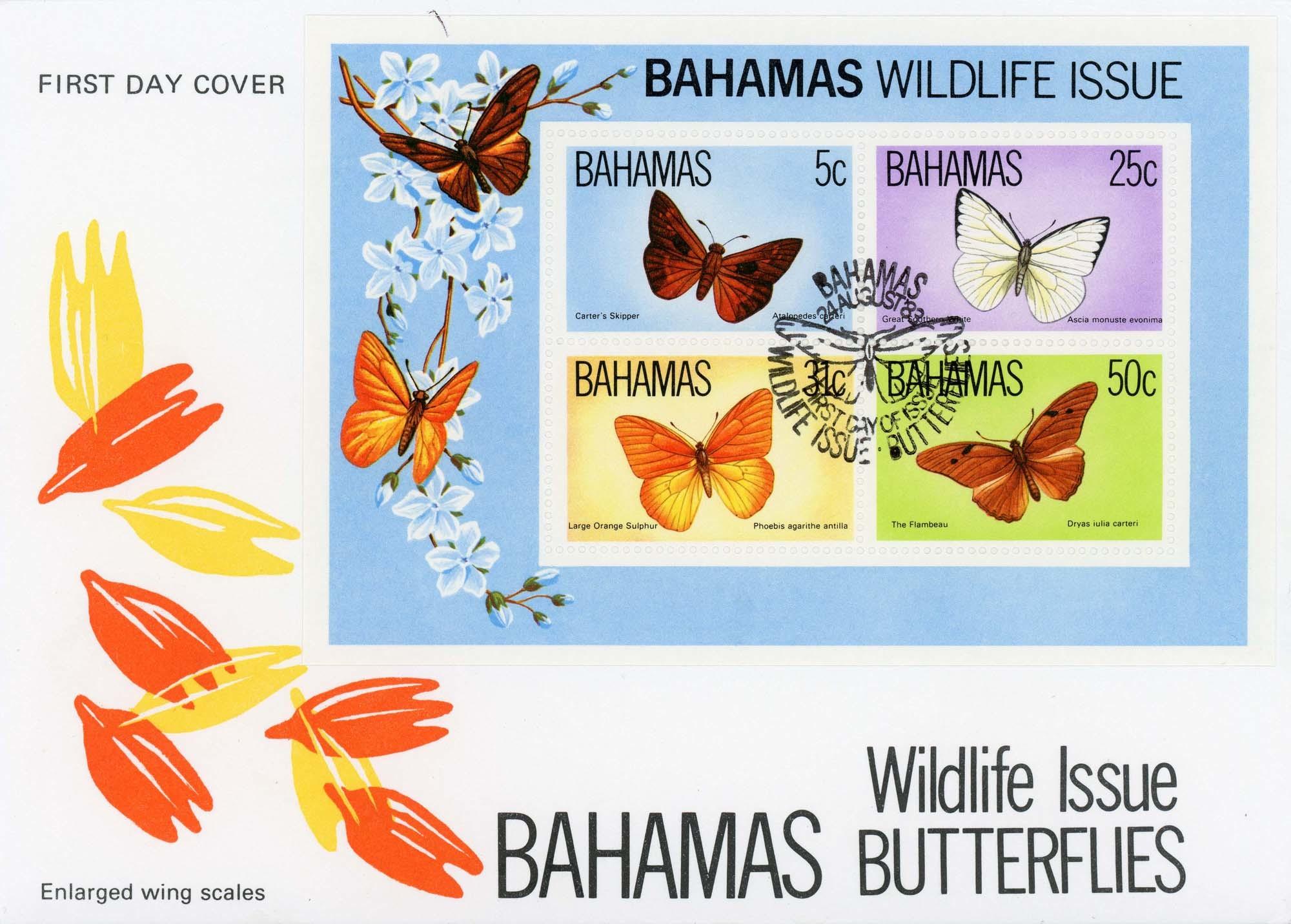 Bahamas:24-Aug-83FDC-2