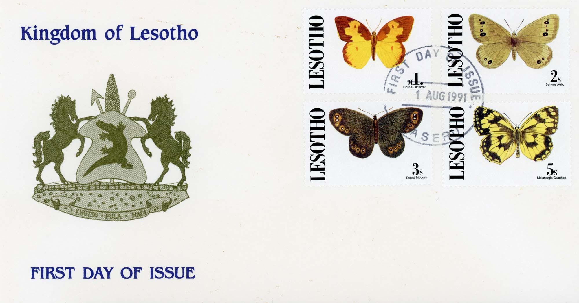 Maseru:1-8-1991FDC-2