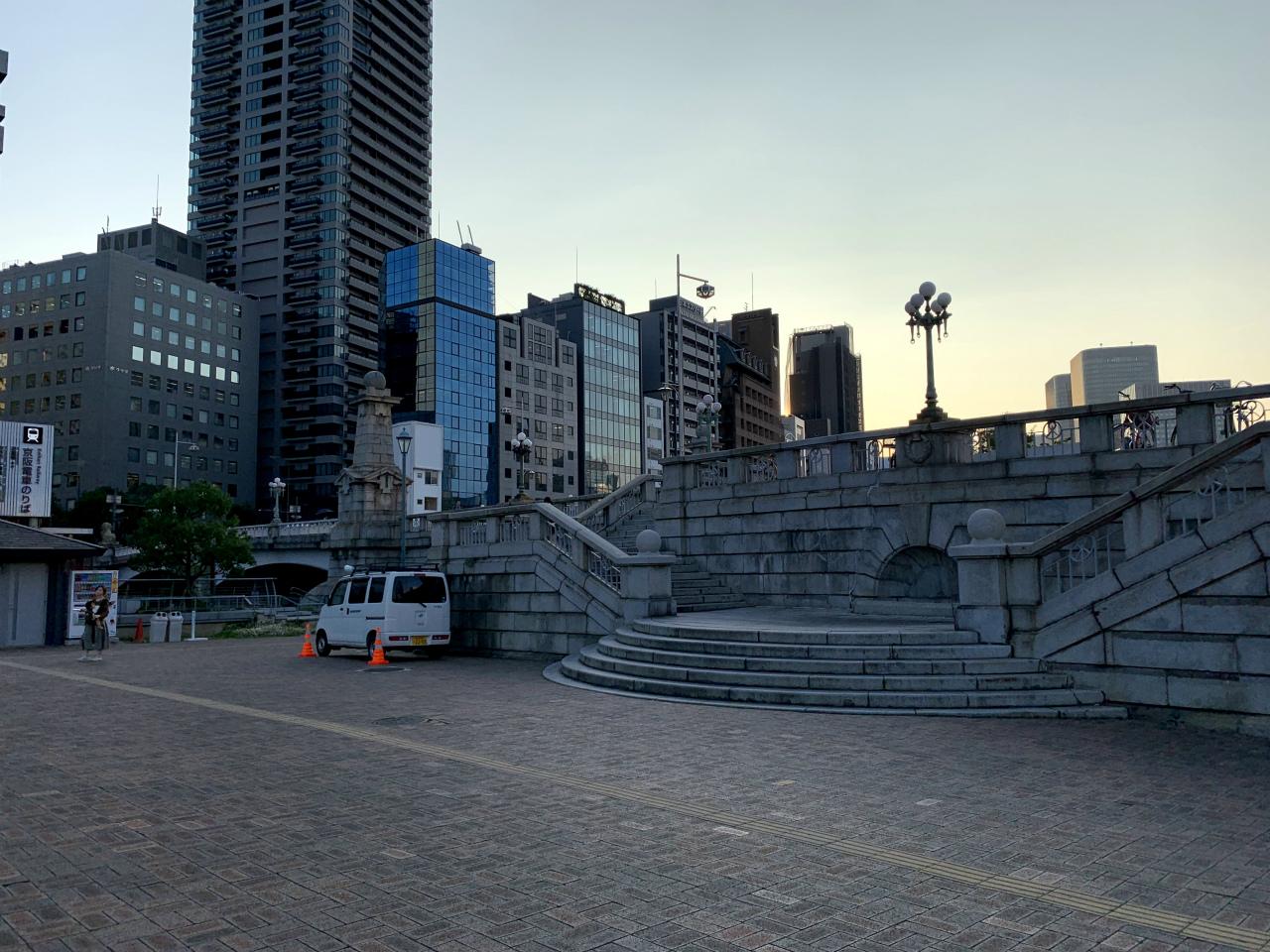 20191007中之島公園02難波橋