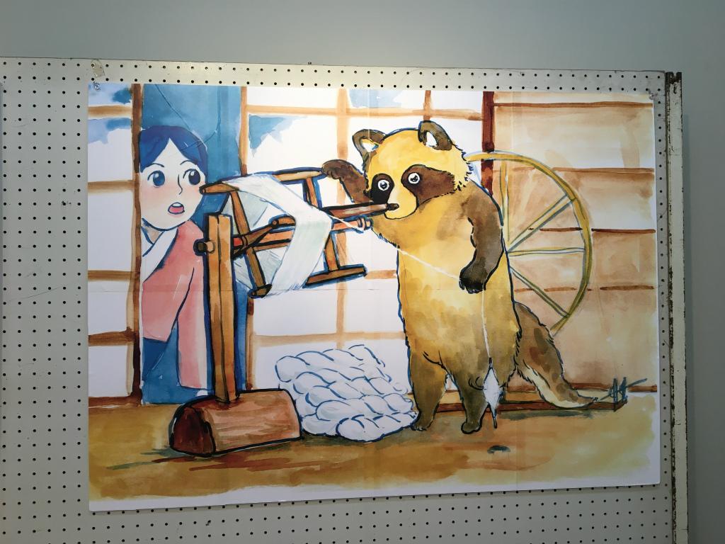 たぬきの糸車04