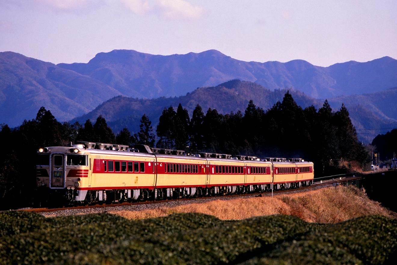 紀勢本線・1992.02.10・キハ82系(3006D・栃原~佐奈)20200104_0006