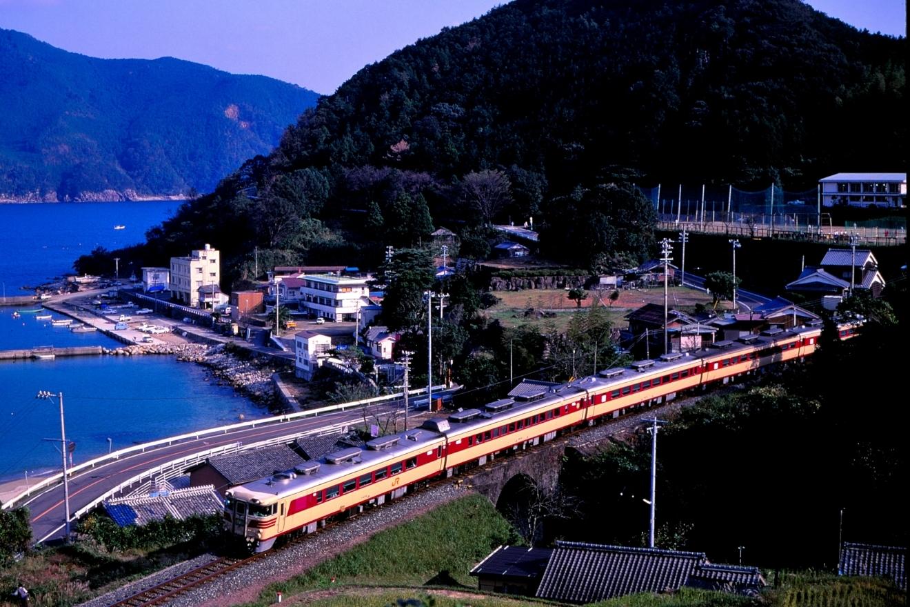 19911102・キハ82系(3006D・新鹿~波田須)1IMG_20200203_0023