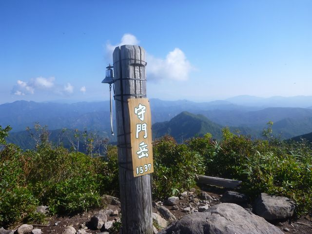 s5守門岳山頂