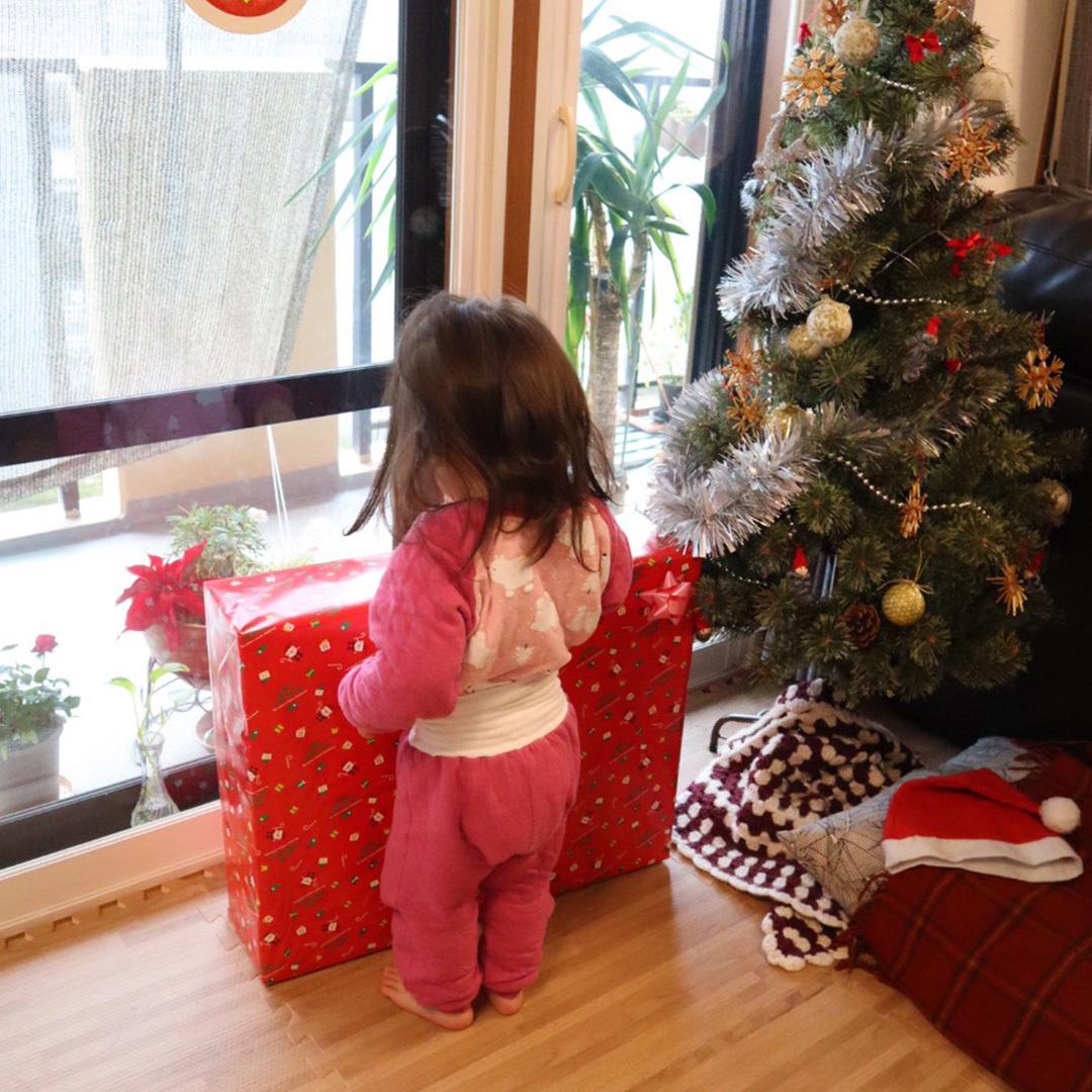 初めてのクリスマスプレゼント