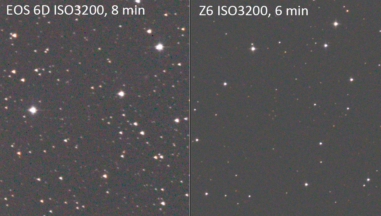 6D Z6 ノイズ 比較
