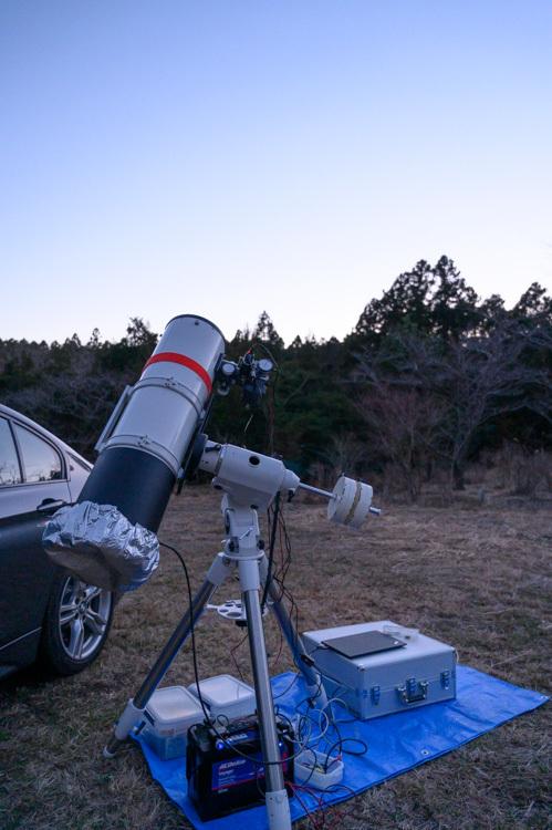 天体観測 2月 三連休 機材