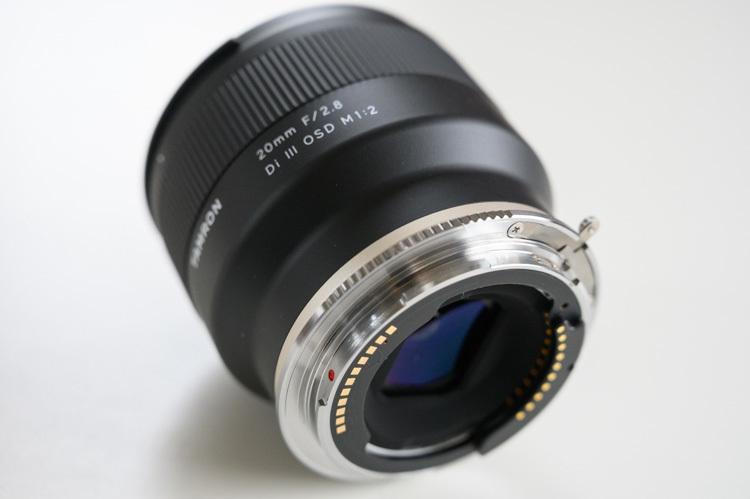 TZE-01 タムロン レンズ取り付け