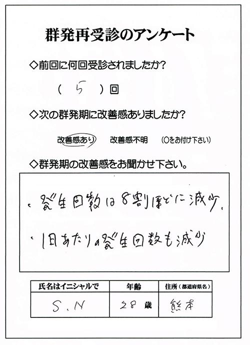 群発頭痛,熊本,福岡,沖縄