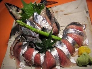 秋刀魚刺身3 (2)