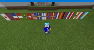 マイクラ 万国旗 国旗