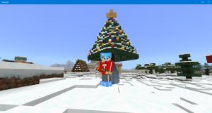 マイクラ クリスマスツリー 木