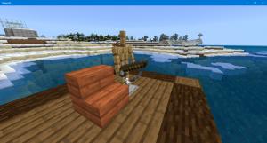 マイクラ 釣り桟橋 魚釣り 釣り竿 桟橋