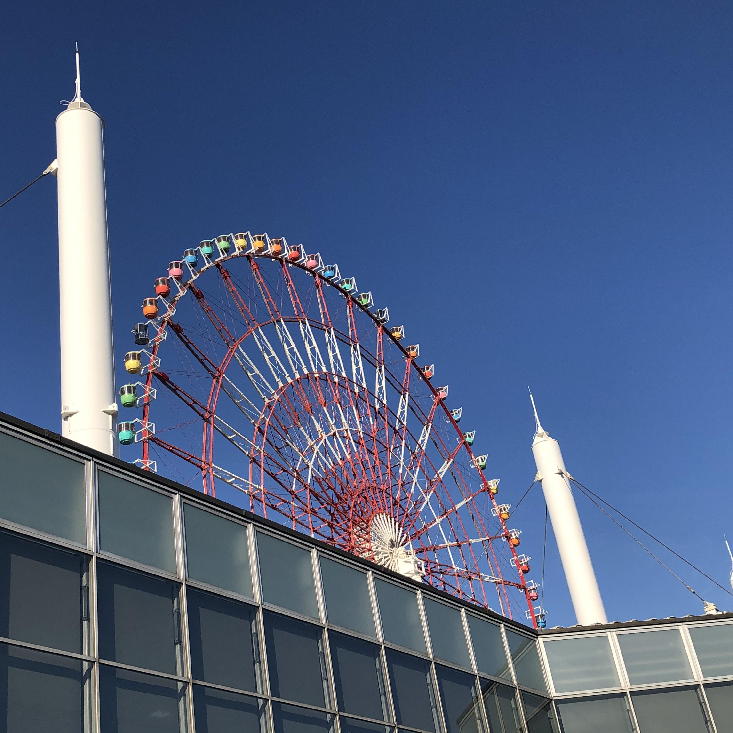 青海駅からの風景