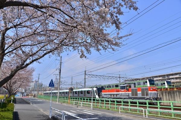 2019年3月27日 JR横浜線 橋本~相模原 DE11-2004+東急2020系
