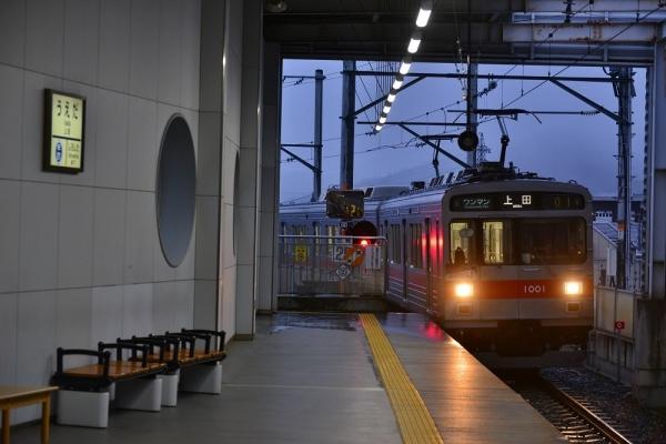 2019年3月28日 上田電鉄別所線 上田 1000系1001編成