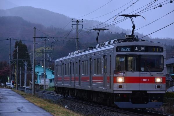 2019年3月28日 上田電鉄別所線 八木沢~舞田 1000系1001編成