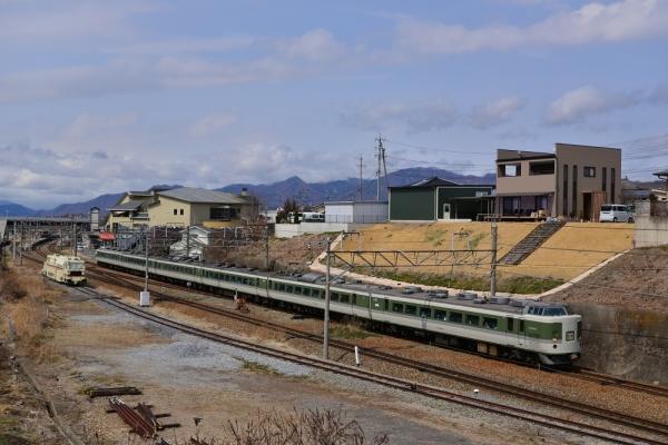 2019年3月28日 しなの鉄道線 田中~滋野 189系N102編成