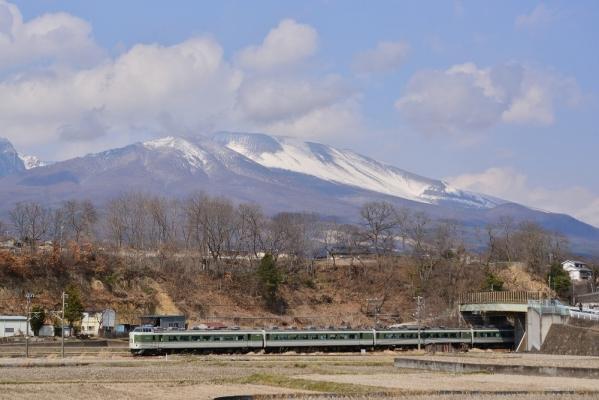 2019年3月28日 しなの鉄道線 御代田~平原 189系N102編成