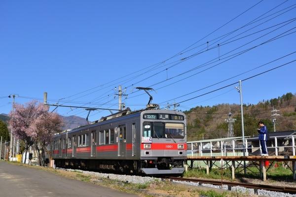 2019年4月20日 上田電鉄別所線 八木沢 1000系1001編成