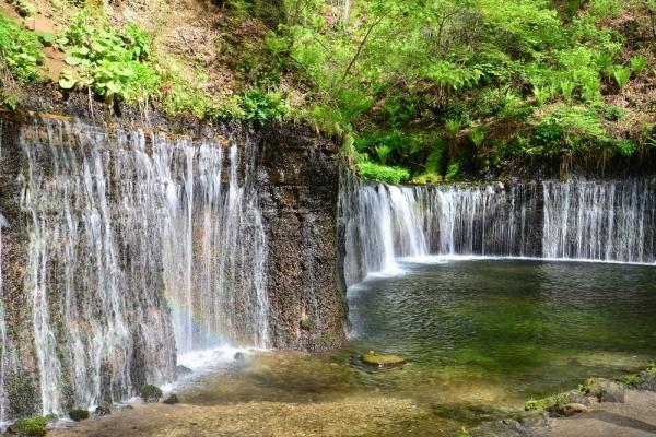 2019年5月22日 長野県北佐久郡軽井沢町 白糸の滝