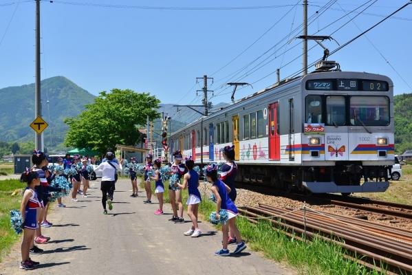 2019年5月25日 上田電鉄別所線 舞田~中野 1000系1002編成