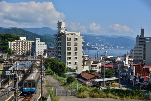 2019年8月10日 JR東日本伊東線 網代 伊豆急8000系TB-7編成