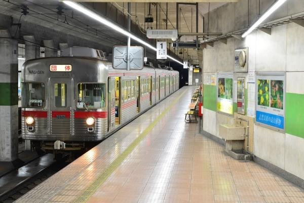 2019年9月8日 長野電鉄長野線 市役所前 3600系L2編成