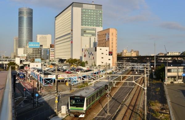 2019年11月2日 JR東日本横浜線 小机~新横浜 E233系H002編成