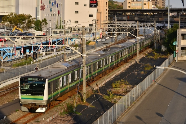 2019年11月2日 JR東日本横浜線 新横浜~小机 E233系H028編成