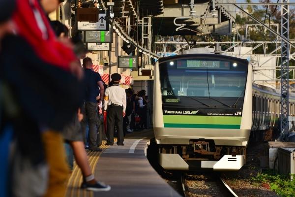 2019年11月2日 JR東日本横浜線 菊名 E233系H002編成