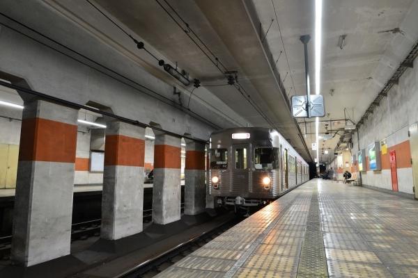 2019年12月13日 長野電鉄長野線 権堂 3500系O2編成