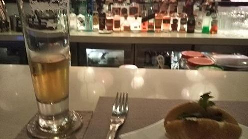 ホテル庭ビール