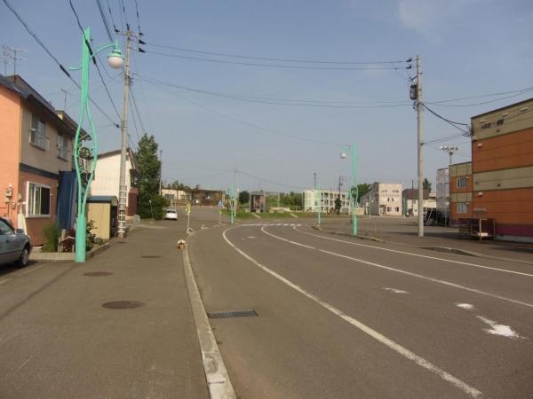石狩沼田駅前