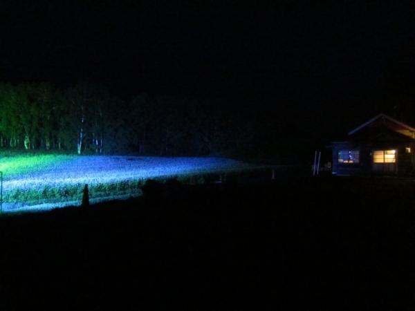旧沼牛駅夜景