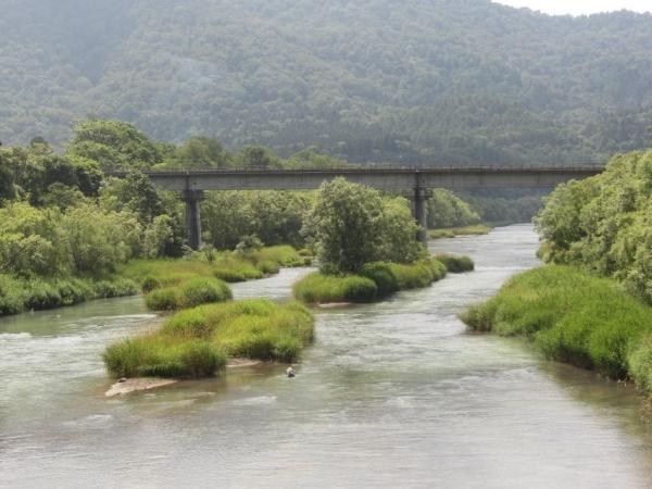 旧夕張支線・夕張川橋梁