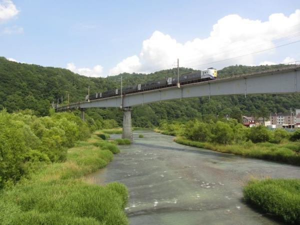 石勝線・夕張川橋梁