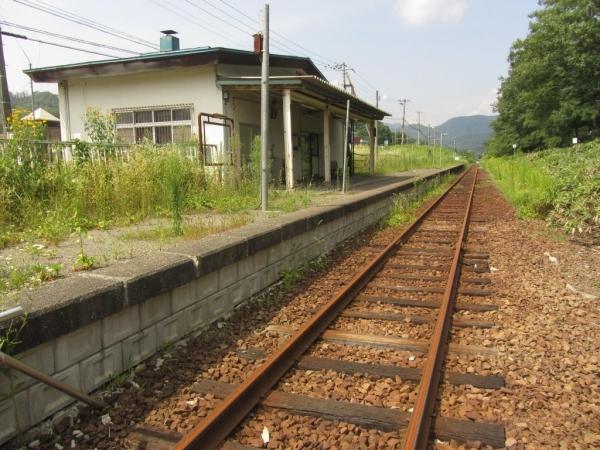 旧南清水沢駅