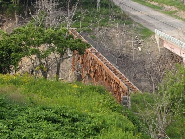 旧旭沢橋梁