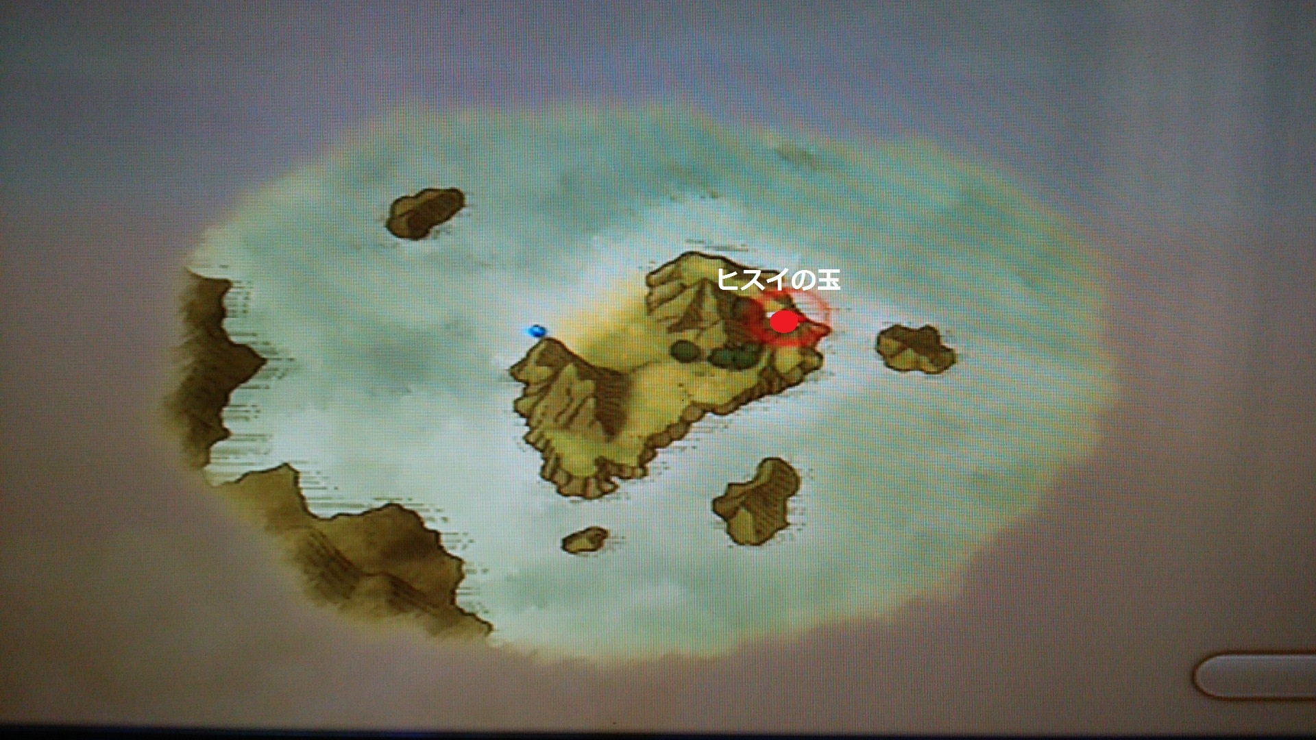 ハテンコ島素材採取MAP