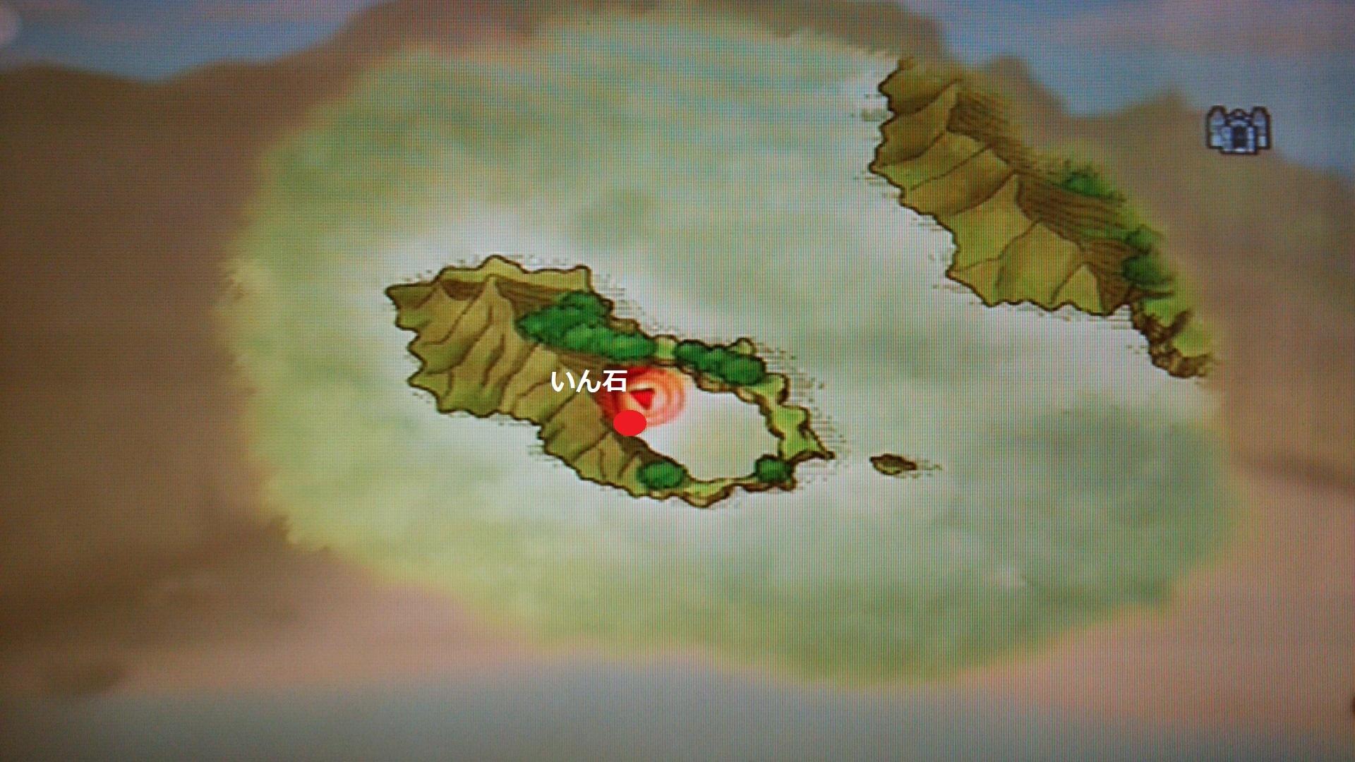 ヤドリカ島素材採取MAP