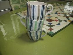 コーヒーカップの花瓶
