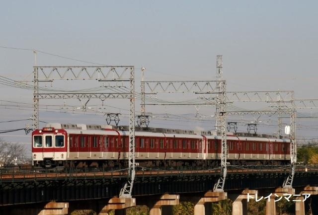 しまかぜなど近鉄京都線の木津川橋梁で撮る - トレインマニア2