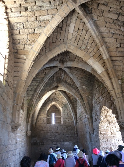 ⑤544十字軍の遺跡カイザリア