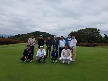 201910 陳さんゴルフ