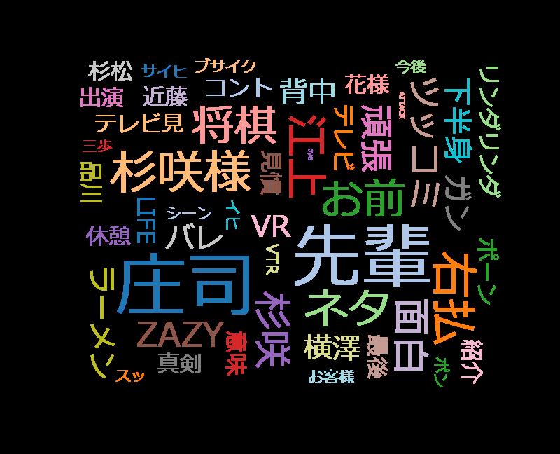 有田Pおもてなす「P60杉咲花 品庄が漢字漫才&ニッチェのコント