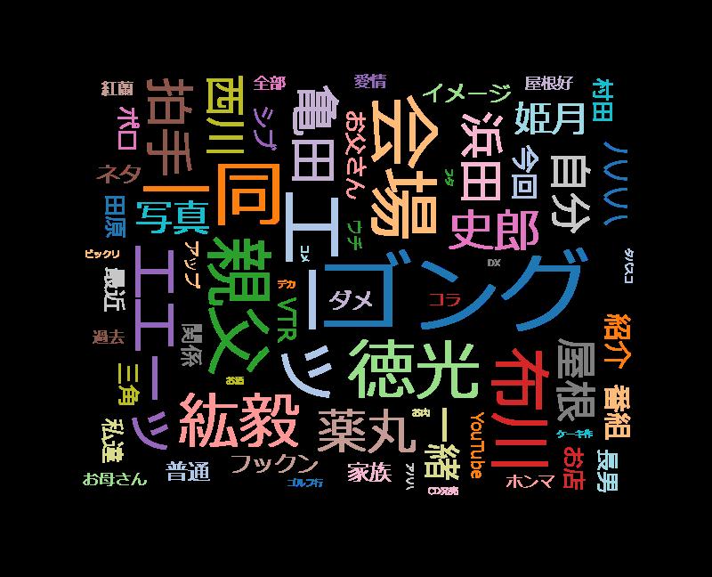 ダウンタウンDX シブがき隊&田原俊彦&亀田家など芸能人2世
