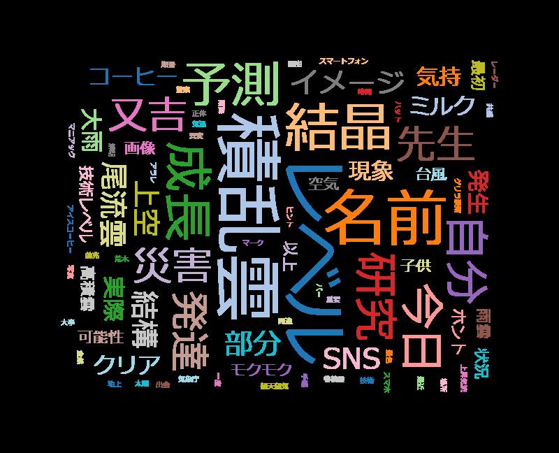 """又吉直樹のヘウレーカ!「雲の""""心"""" 読めますか?」雲研究者"""